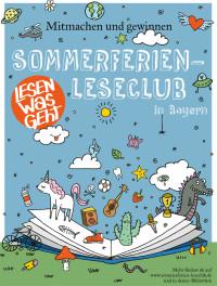 Sommerferien-Leseclub Plakat